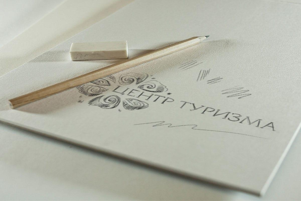 эскиз логотипа